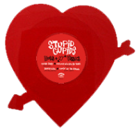 Studpid Cupids heart shaped vinyl EP