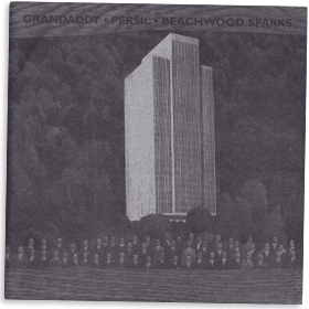 Grandaddy/Persil/ Beachwood Sparks split cover art